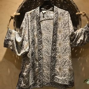 Max studio kimono top xl